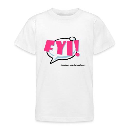 FYI.ai - Nuorten t-paita