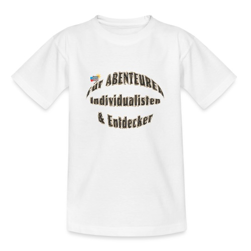 Abenteurer Individualisten & Entdecker - Teenager T-Shirt