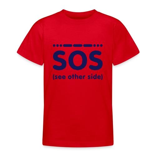 SOS - Teenager T-shirt