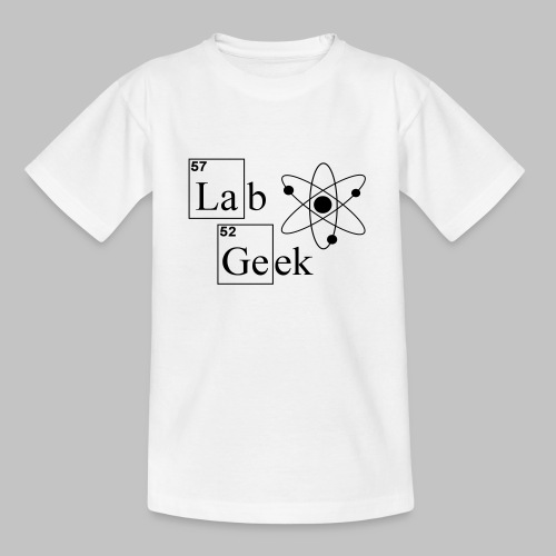 Lab Geek Atom - Teenage T-Shirt