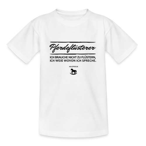 Holzpferd - Teenager T-Shirt