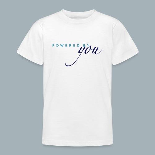Powered By You Basketbal Shirt - Teenager T-shirt