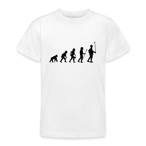 Stabführer Evolution - Teenager T-Shirt