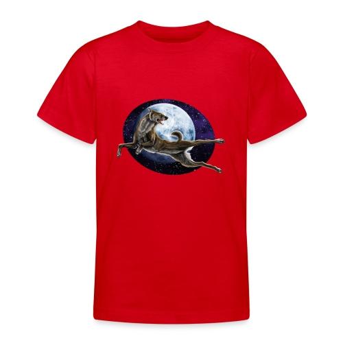 Galaxy Wolf - Teenager T-Shirt