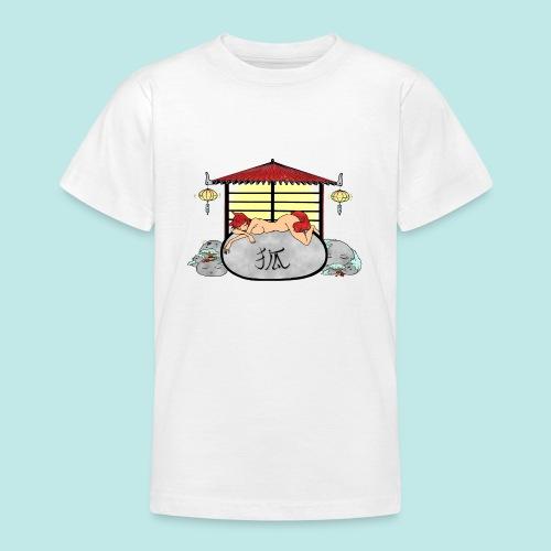 Déesse renard Inari jardin zen temple japonais - T-shirt Ado