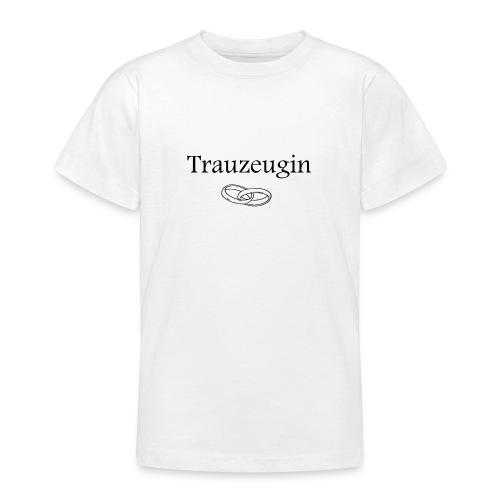 Treuzeugin - Teenager T-Shirt