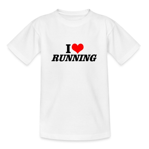 I love running - Teenager T-Shirt