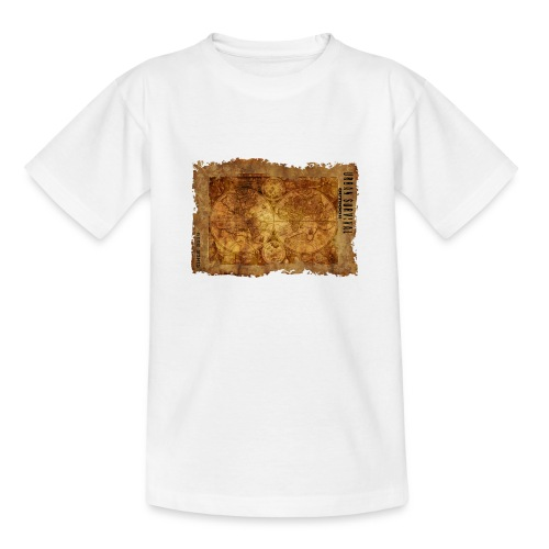 map of the world 2241469 1920 - Teenager T-Shirt