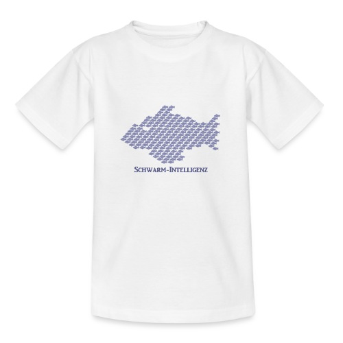 Schwarmintelligenz (Premium Shirt) - Teenager T-Shirt