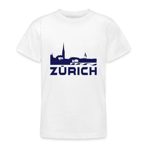Zürich - Teenager T-Shirt