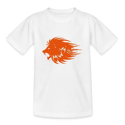 MWB Print Lion Orange - Teenage T-Shirt