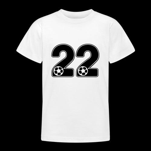foot numero 22 - Teenage T-Shirt