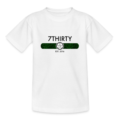 7Thirty Est. 2016 Black - Teenage T-Shirt
