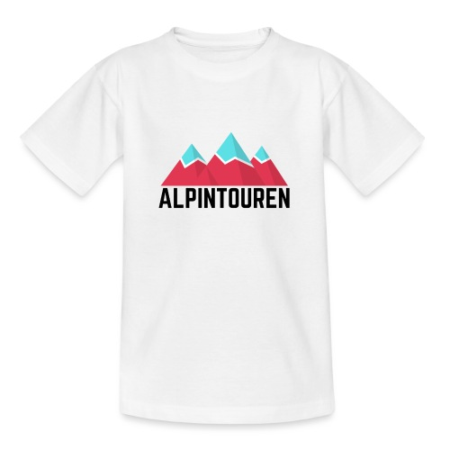Alpintouren - Teenager T-Shirt