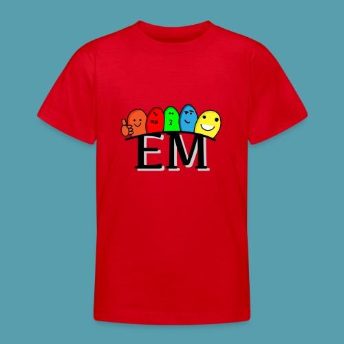 EM - Nuorten t-paita