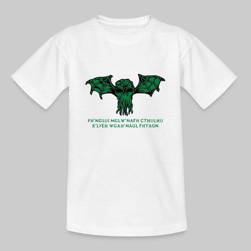 Cthulhu Wings Fhtagn - Teenager T-Shirt