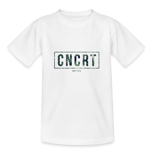 CNCRT white men sweater (Plant Print) - Teenager T-shirt