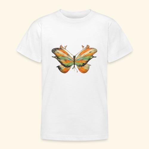 grande farfalla colorata - Maglietta per ragazzi