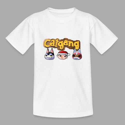 Animal Crossing CatGang - Teenager T-Shirt