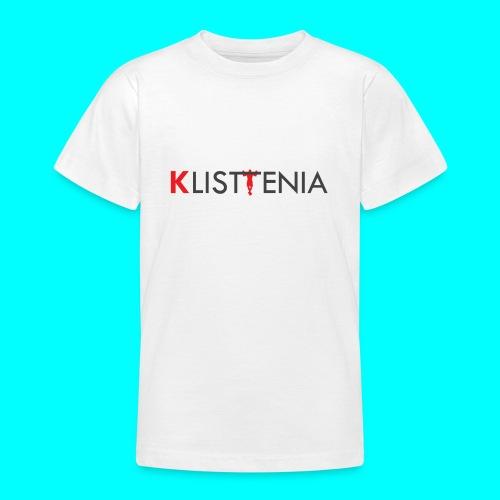 KLALISTENIA - Camiseta adolescente