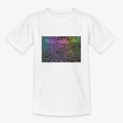 Regenbogenwand - Teenager T-Shirt