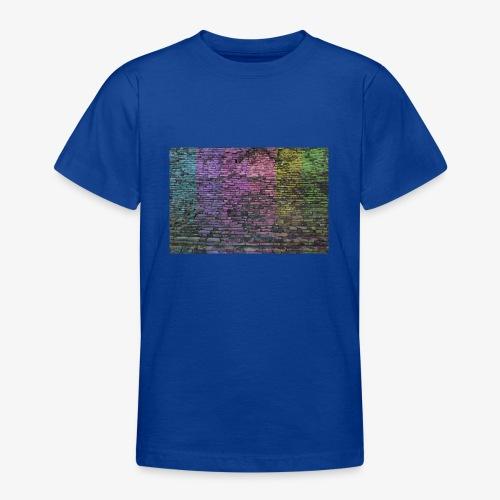 Regenbogenwand - Teenager T-Shirt