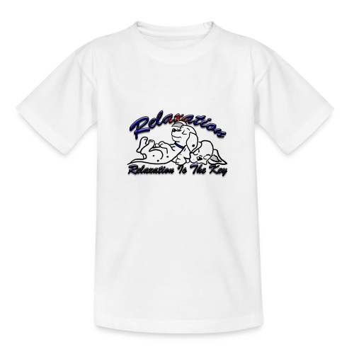 Relaxation Is The Key - Teenage T-Shirt