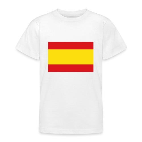 vlag van spanje - Teenager T-shirt
