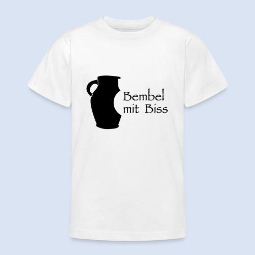 Bembel mit Biss - Teenager T-Shirt