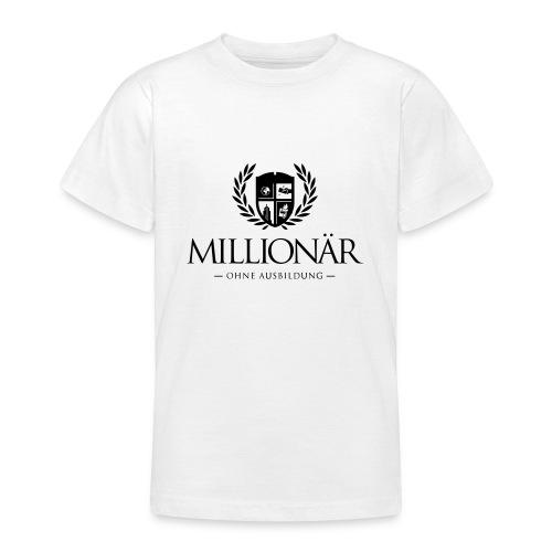 Millionär ohne Ausbildung Jacket - Teenager T-Shirt