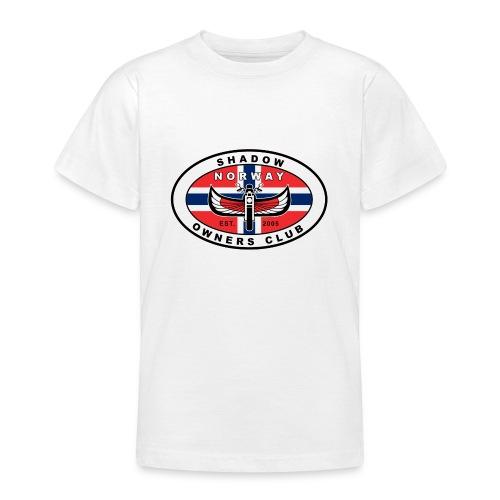 SHOC Norway Patch jpg - T-skjorte for tenåringer