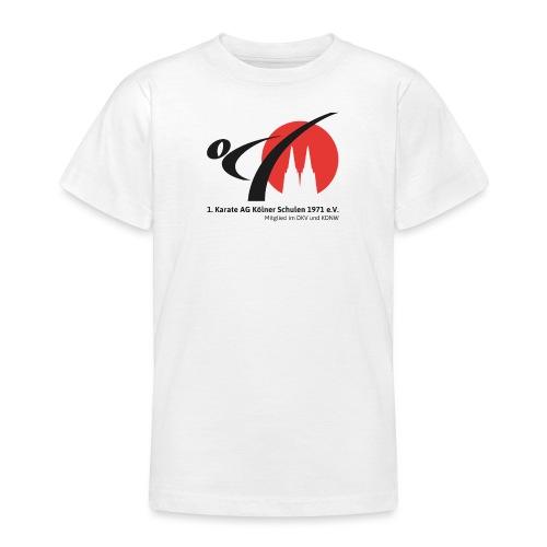 Fanshop_Logo_Karate_Ag - Teenager T-Shirt