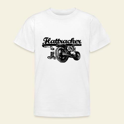 flattracker - Teenager-T-shirt