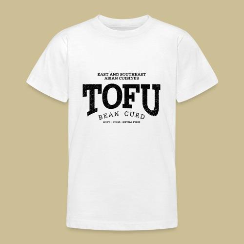 Tofu (black oldstyle) - Teenager T-Shirt