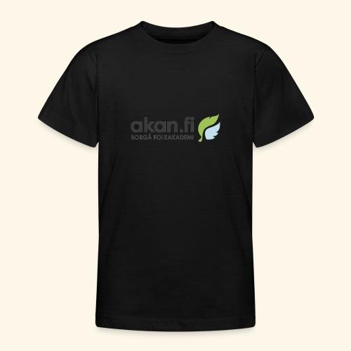 Akan Black - Nuorten t-paita