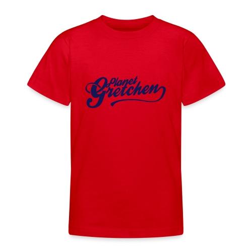 Planet Gretchen svart - T-shirt tonåring