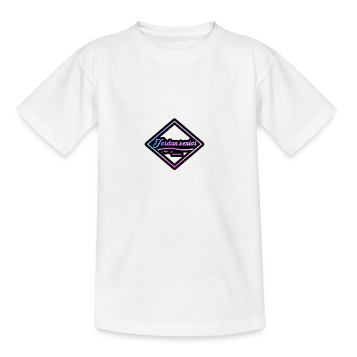 jordan sennior logo - Teenage T-Shirt