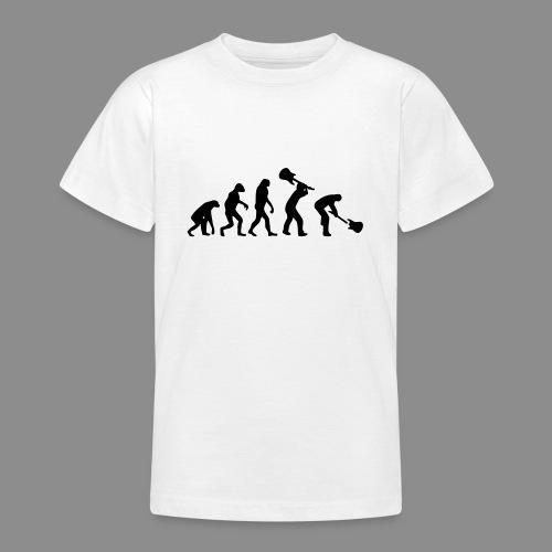 Evolution Rock - Camiseta adolescente