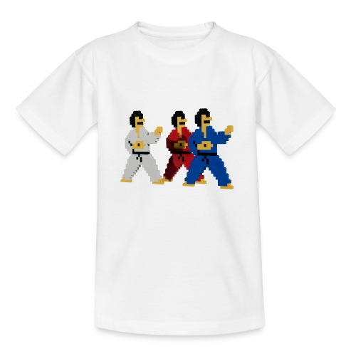 8 bit trip ninjas 1 - Teenage T-Shirt