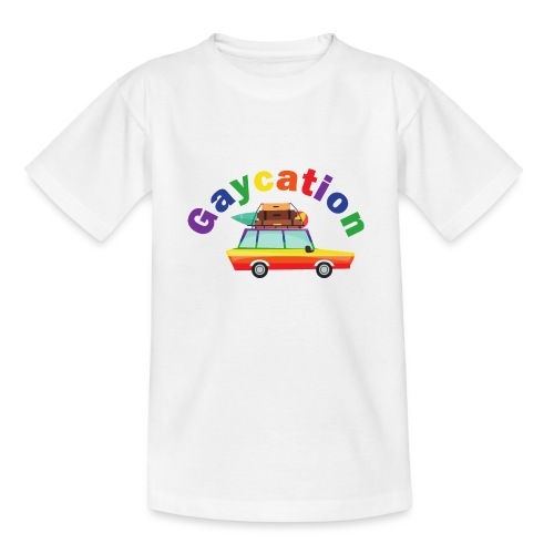 Gaycation | LGBT | Pride - Teenager T-Shirt