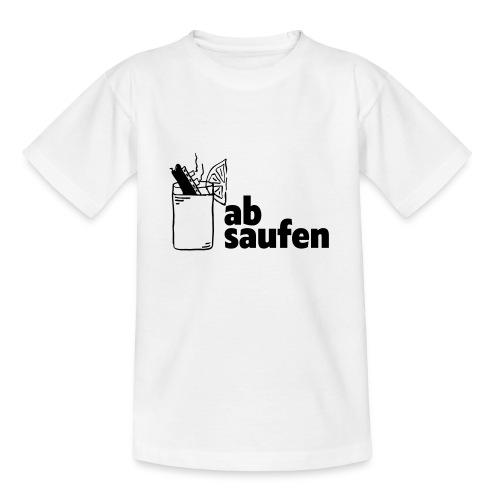 absaufen - Teenager T-Shirt