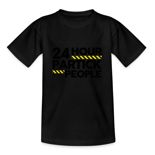 24 Hour Partick People - Teenage T-Shirt
