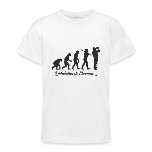 évolution homme (H) - T-shirt Ado
