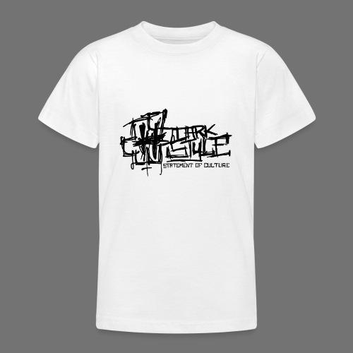 Tumma Style - Statement of Culture (musta) - Nuorten t-paita