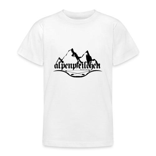 Alpenpfeilchen - Logo - Teenager T-Shirt