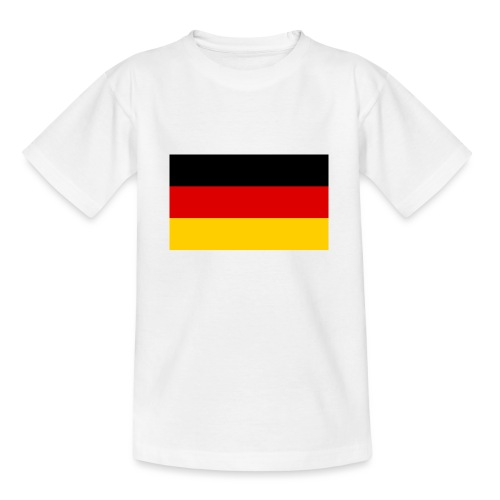 2000px Flag of Germany svg - Teenager T-Shirt