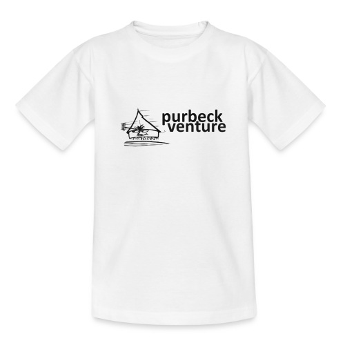 Purbeck Venture Active black - Teenage T-Shirt