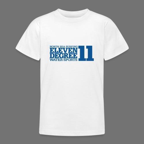 Surfing - eleven degree watersports (blue) - Teenage T-Shirt