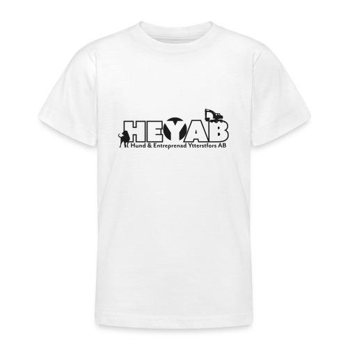 HEYAB logo outline - T-shirt tonåring