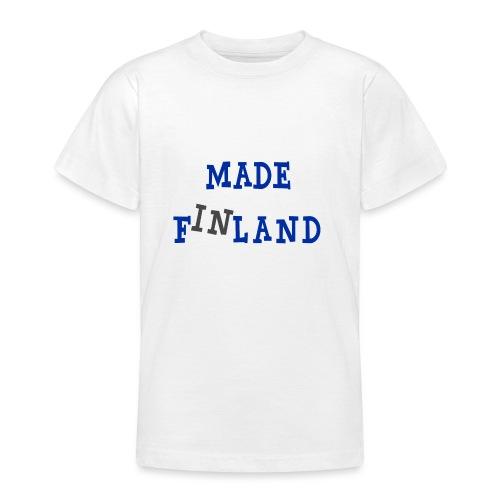 Made in Finland - Nuorten t-paita